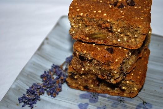 Gluten Aversion: Quinoa Breakfast Bars