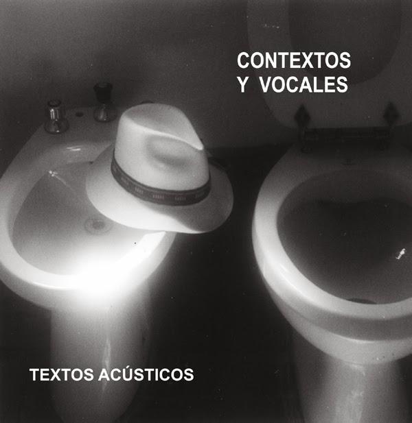 2002 - Contextos y vocales, textos acústicos