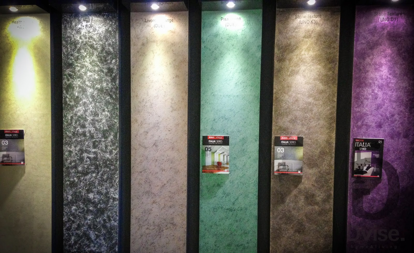 sancora italia series special texture paint at dvise for