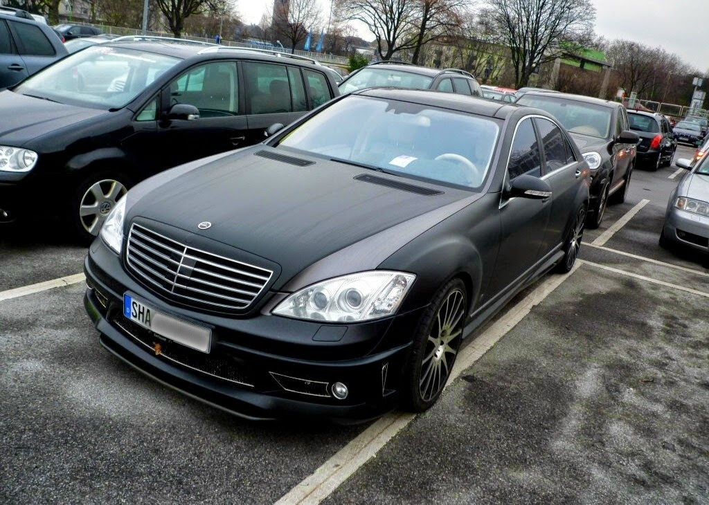 Mercedes benz w221 s class carlsson matte benztuning for Matte mercedes benz