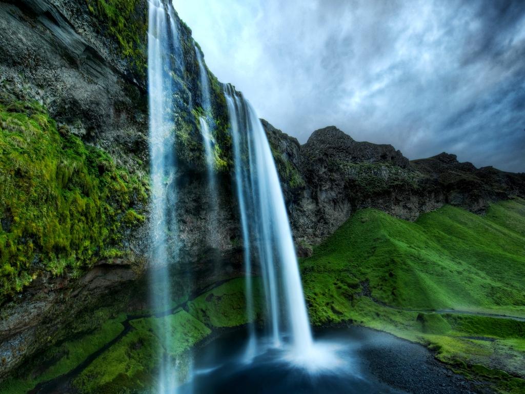 most beautiful water fall full hd wallpaper nfs