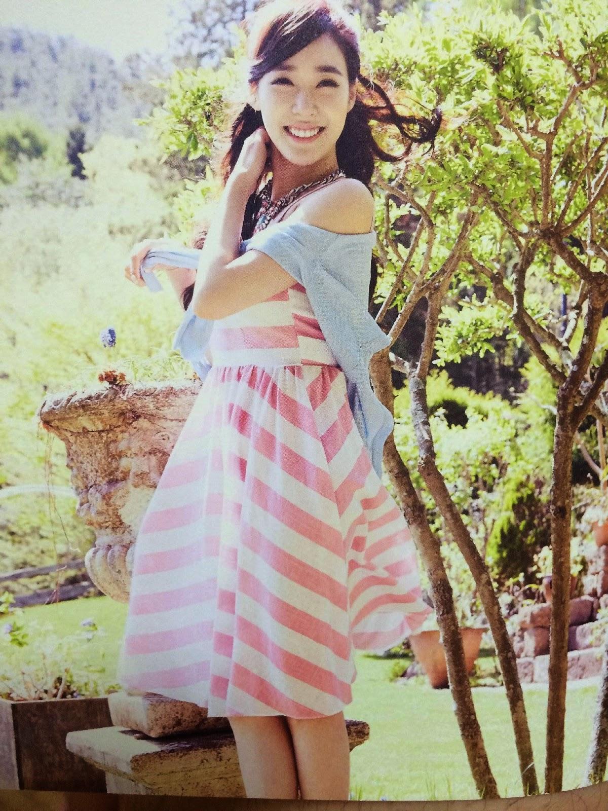 SNSD Tiffany (티파니; ティファニー) Girls Generation The Best Scan Photos 5