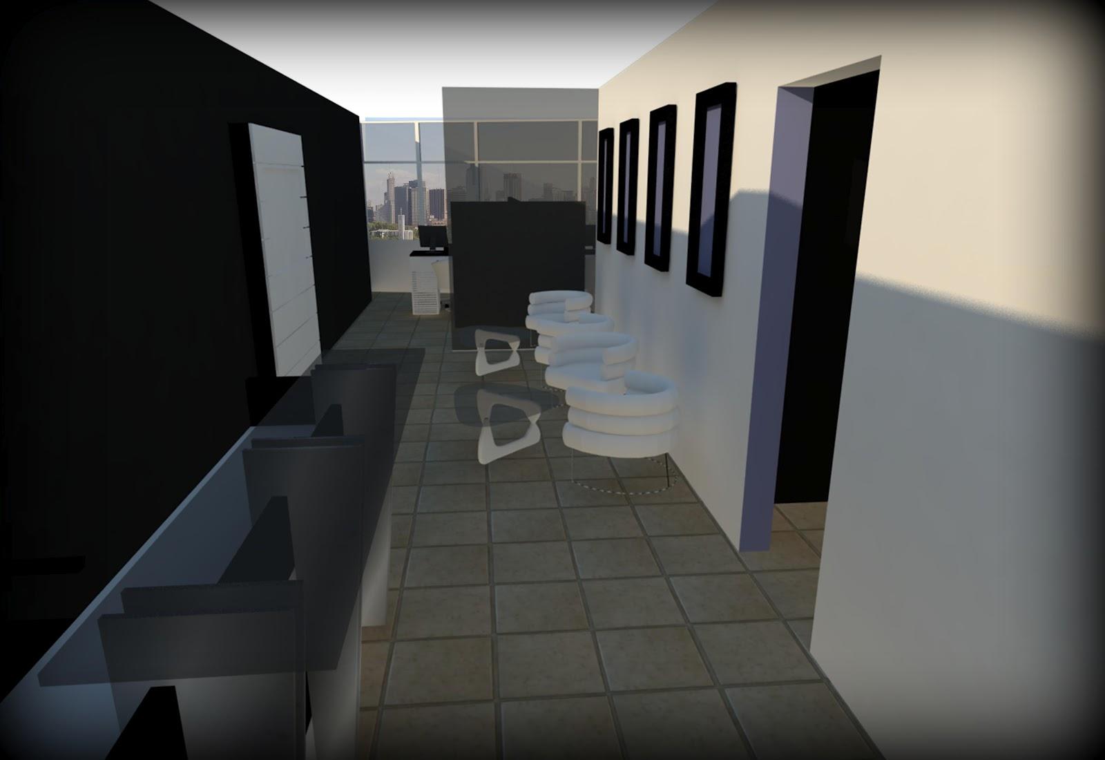 Dise o industrial proyecto oficina de turismo for Oficinas de diseno industrial