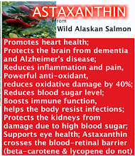 MegaOmega contains Astaxanthin from Wild Alaskan Salmon Oil