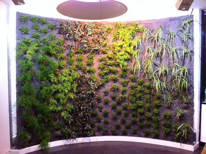 Nuevas tendencias en jardiner a for Jardines verticales historia