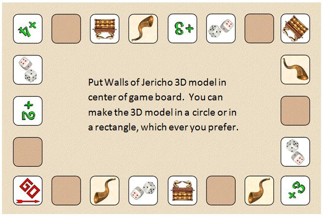 Walls Of Jericho File Folder Game