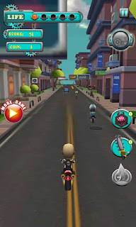Screenshots of the Speed moto: Turbo racing for Android tablet, phone.