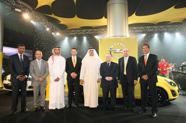 Opel launches a New Line-Up in the United Arab Emirates