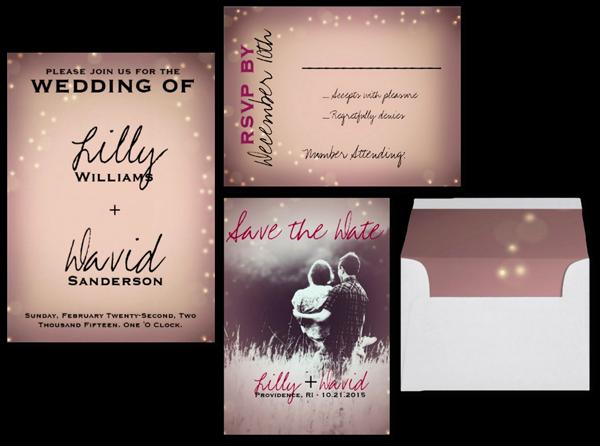 Blush Light - Wedding Customizable Invitation
