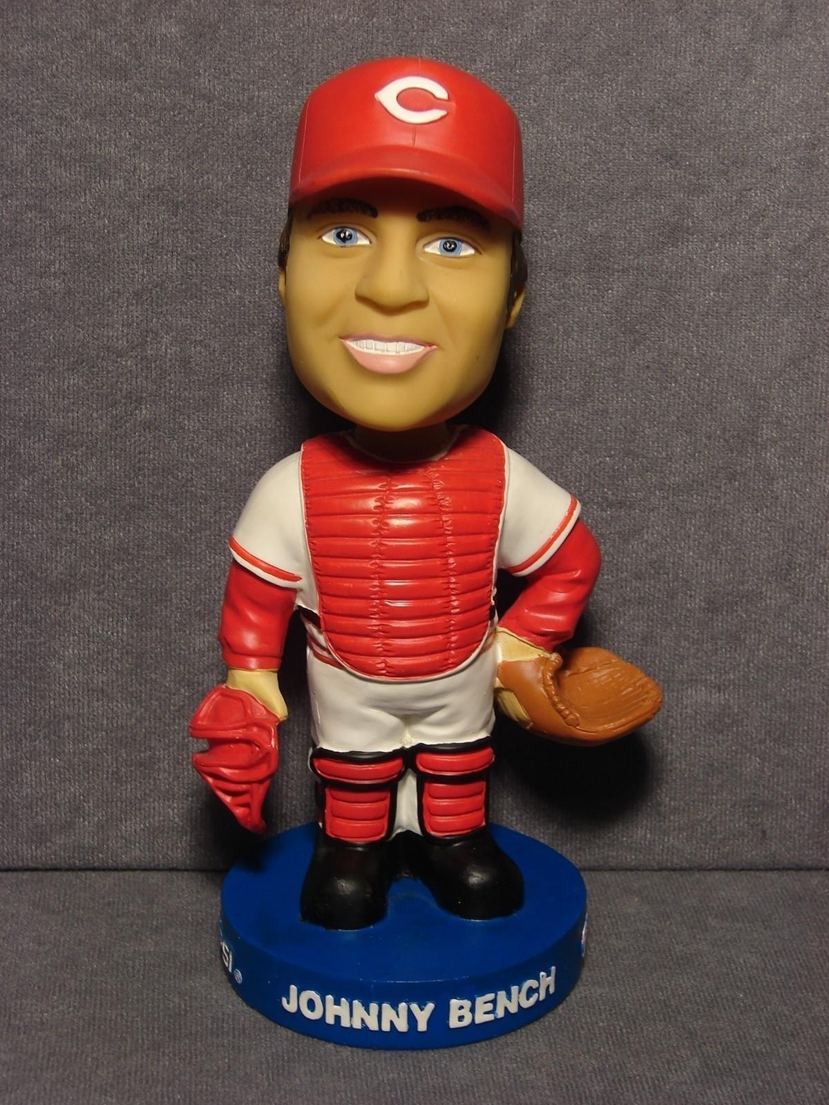 Cincinnati Reds Baseball Card Collector Bobblin Bench