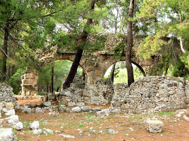 Фаселис,Турция,отдых летом,отдых в Турции