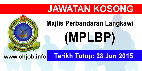 Jawatan Kerja Kosong Majlis Perbandaran Langkawi (MPLBP) logo www.ohjob.info jun 2015