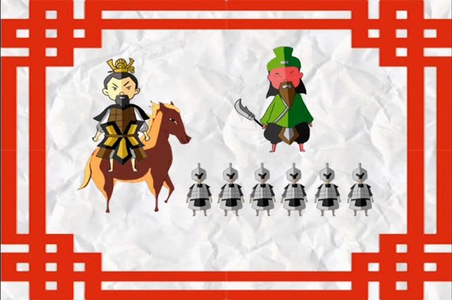 ตัวละครน่ารัก ๆ ของสามก๊ก ตอน กวนอูไปรับราชการกับโจโฉ 607'58
