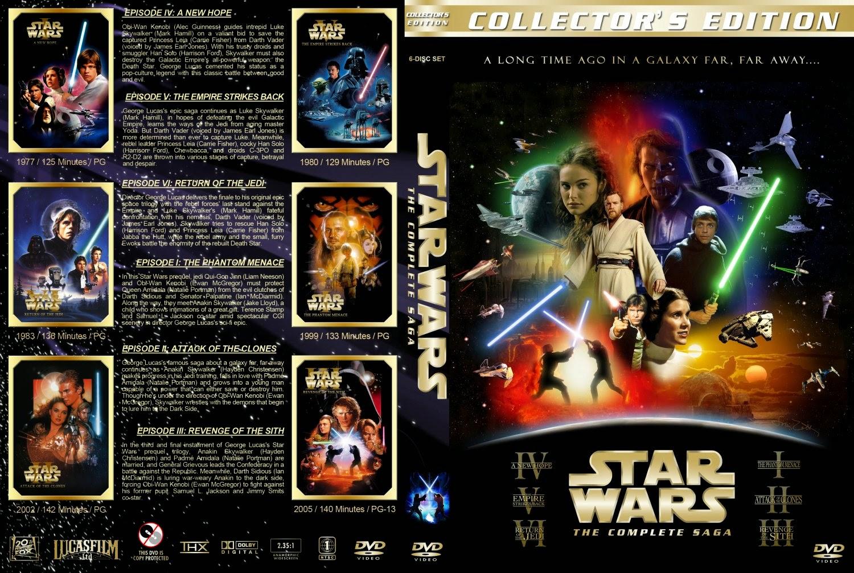 Download Coleção Star Wars DVDRip XviD Dual Áudio capa star