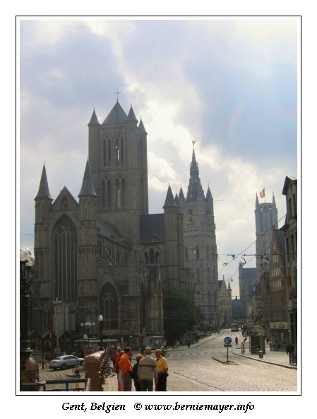 die 3 Türme von Gent