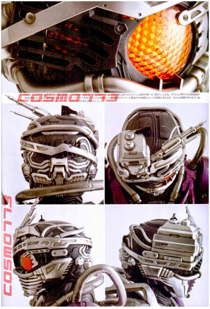 Detil Kostum Machine Chaser Bagian Kepala