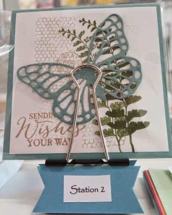 Station 2 Occasional catalogue launch zena kennedy independent stampin up demonstrator