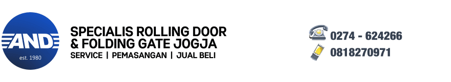 Rolling Door & Folding Gate Jogja