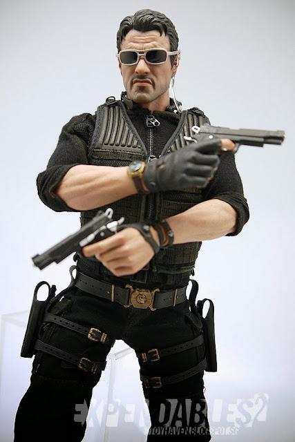 Toyhaven Hot Toys The Expendables 2 1 6 Scale Barney Ross 12 Inch Collectible Figure Review Iii