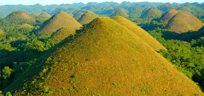 Travel Time Philippines Chocolate Hills In Bohol Philippines