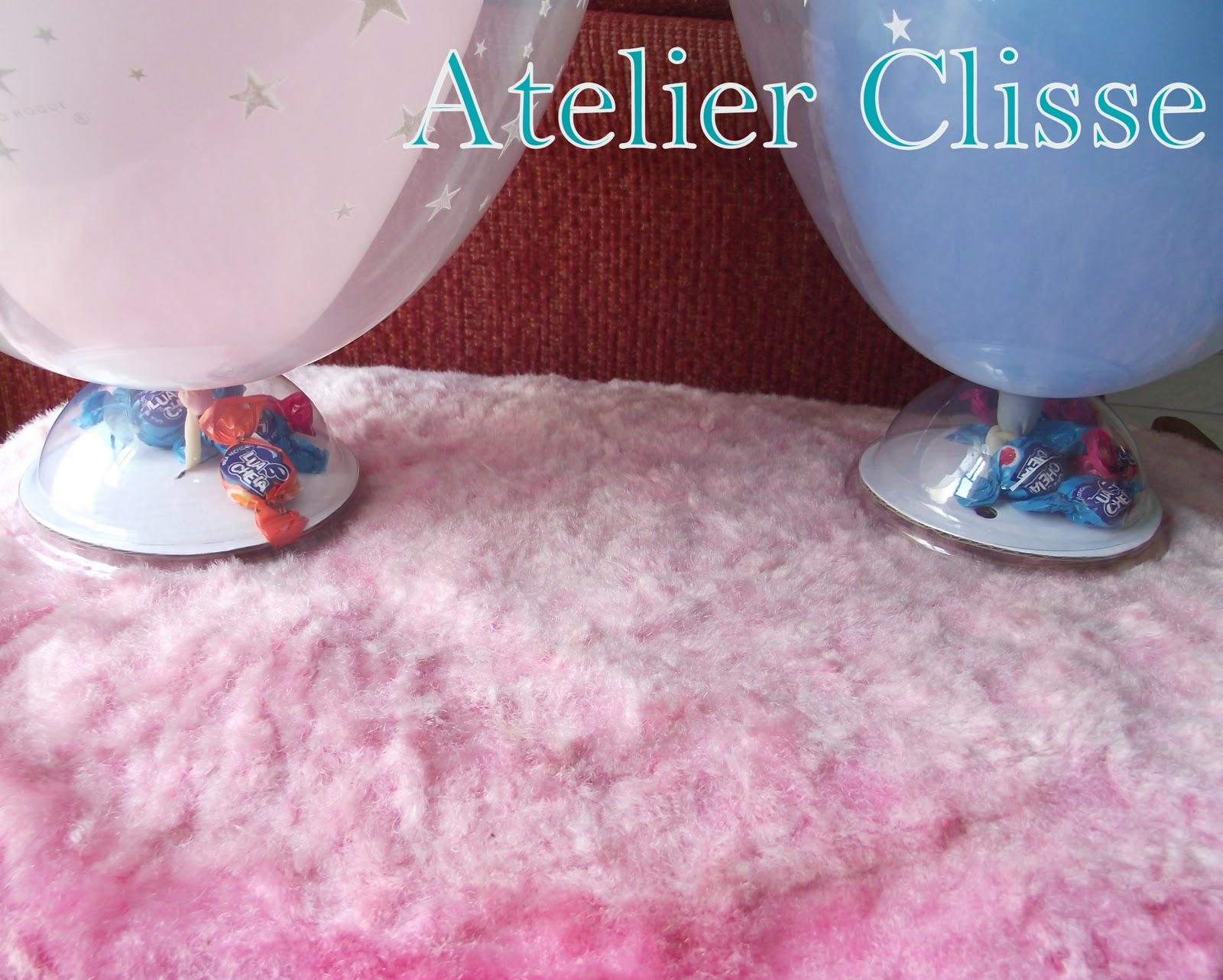 Atelier Clisse: Enfeite com bexiga para mesa #377194 1600x1282