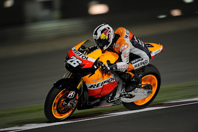 2011 Repsol Honda RC212V MotoGP Action View
