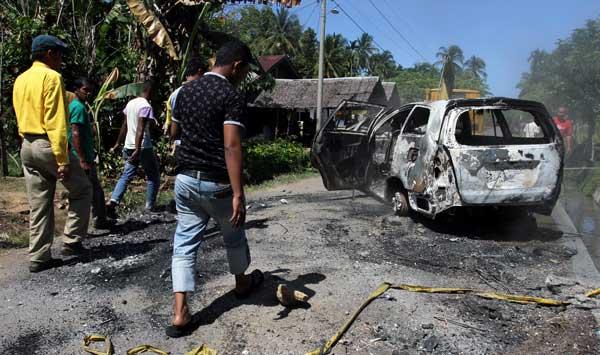 Syariat Islam - Inilah Gambar Pembantaian Kelompok Ajaran Sesat di Aceh
