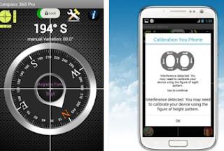 Aplikasi Kompas Android
