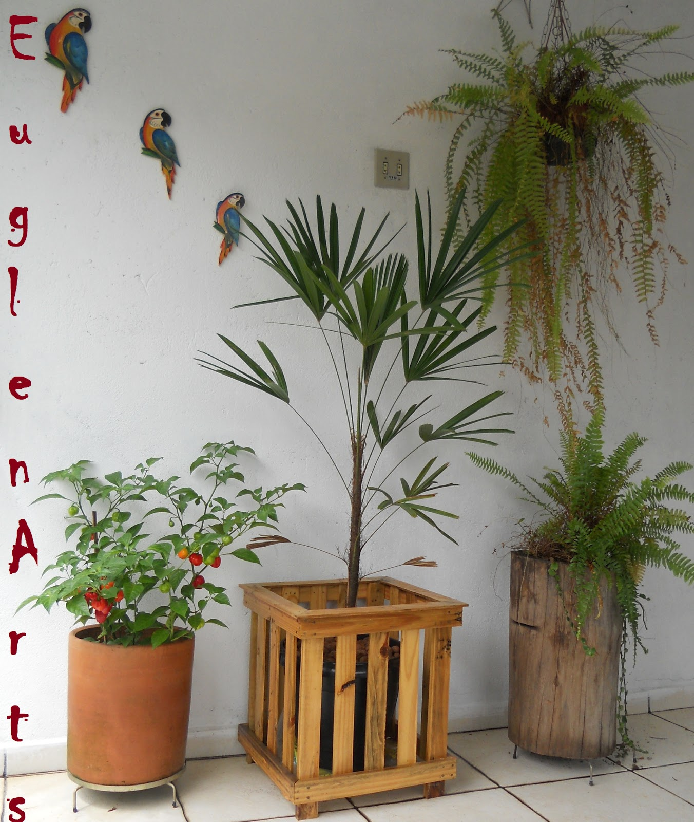 EuglenArt's: Cachepô madeira reciclada #966435 1352x1600