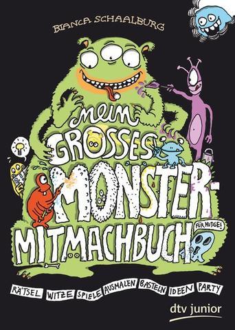 Mein großes Monster-Mitmach-Buch