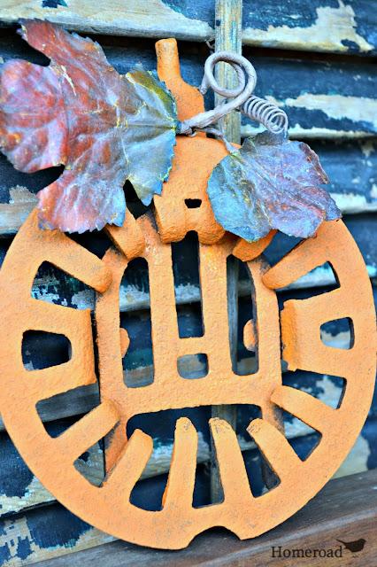 rustic grate pumpkin www.homeroad.net