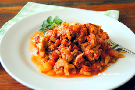 Chicken and Ham Jambalaya