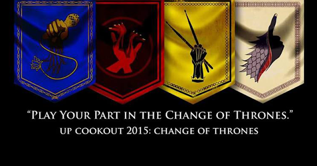 UP Cookout 2015: Change of Thrones