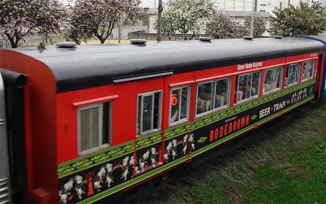 Beer Train tem viagem festiva em outubro