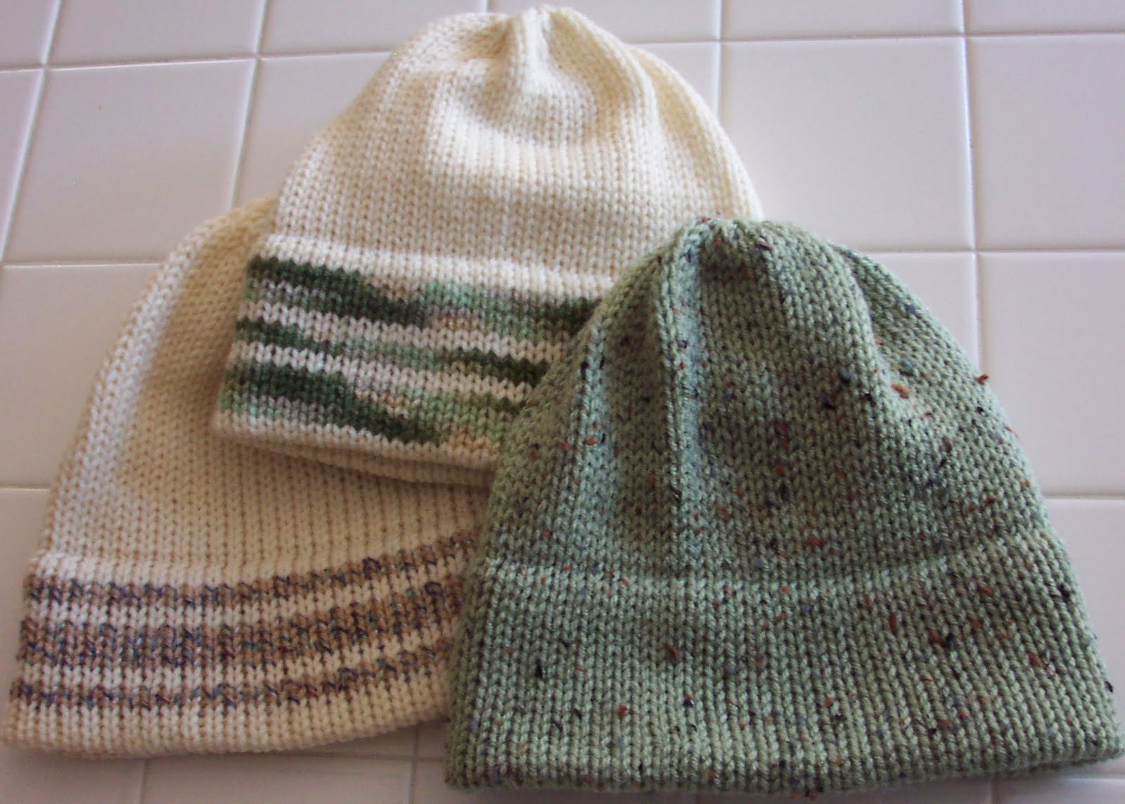 Knitting Pattern For Soldiers Hats : Diana natters on... about machine knitting: Project Photos