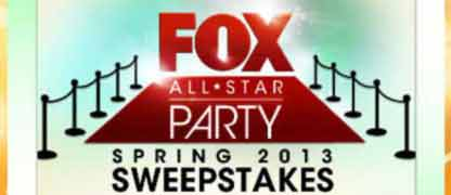 Win the All Star Party Sweepstakes from Fox