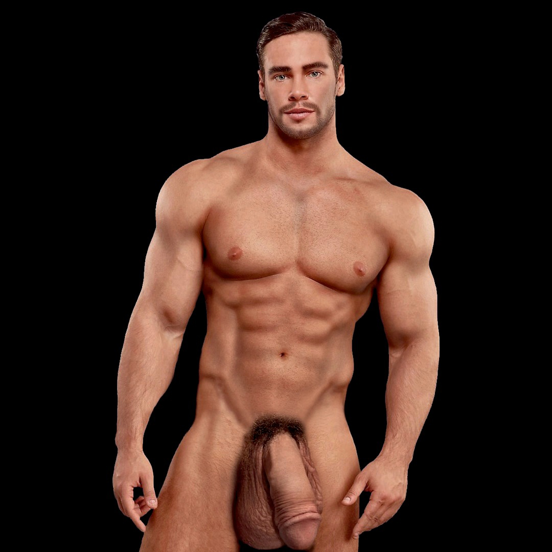 from Lennon nude men model penis