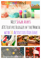 Meet Sugar Aunts ATK Feature Blogger of the Month