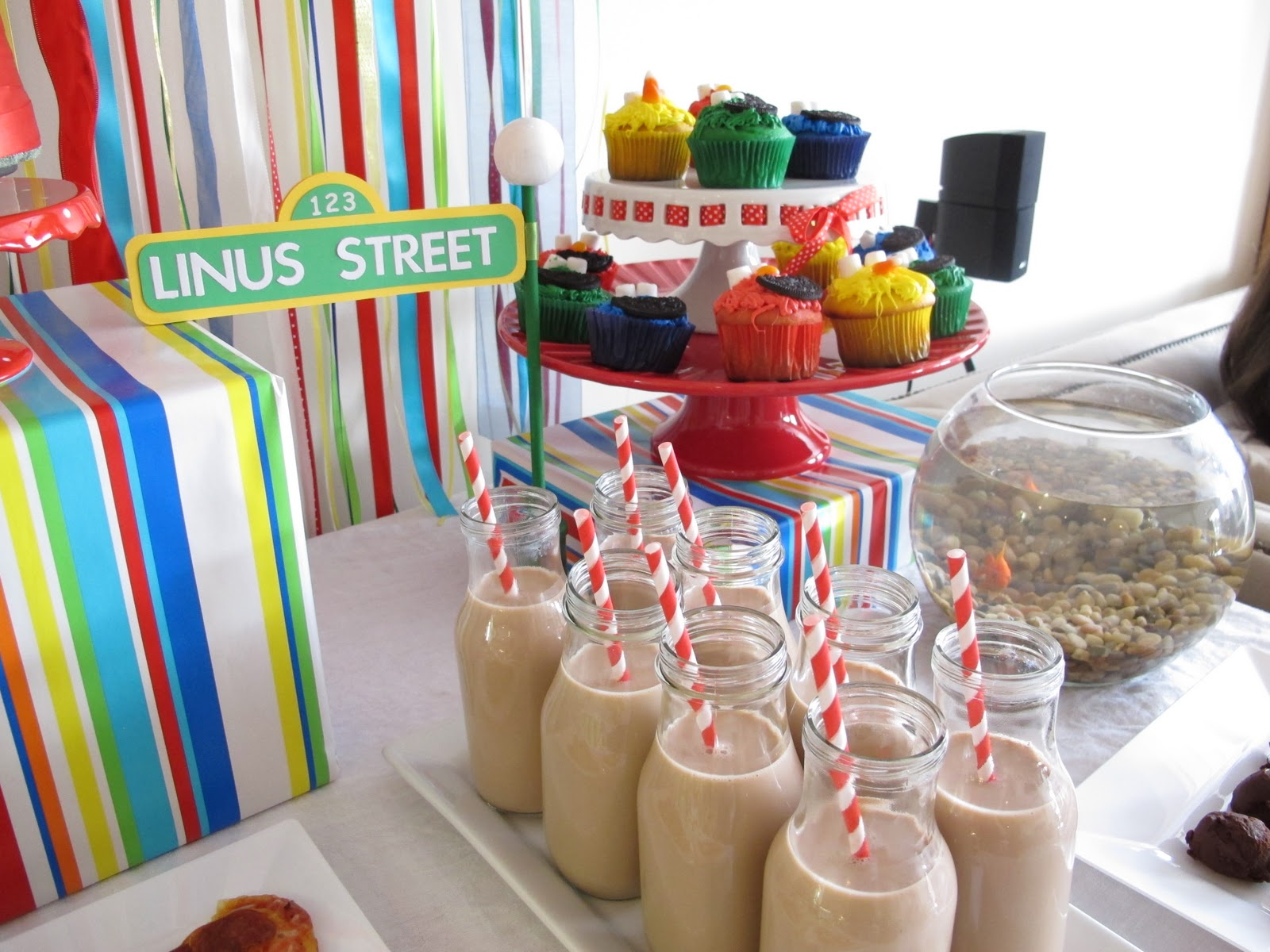 Here Are The Rest Of Pictures From Our Sesame Street Party