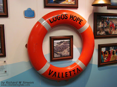 how to go to Logos Hope Ship Kuching Port