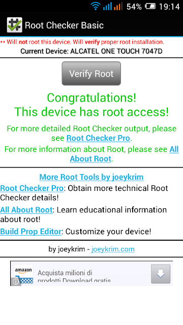 How To Root Alcatel OneTouch Pop C9 Without PC