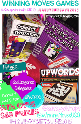 Winning Moves Games: #SassyWinningGA2015 SassyGalBeauty