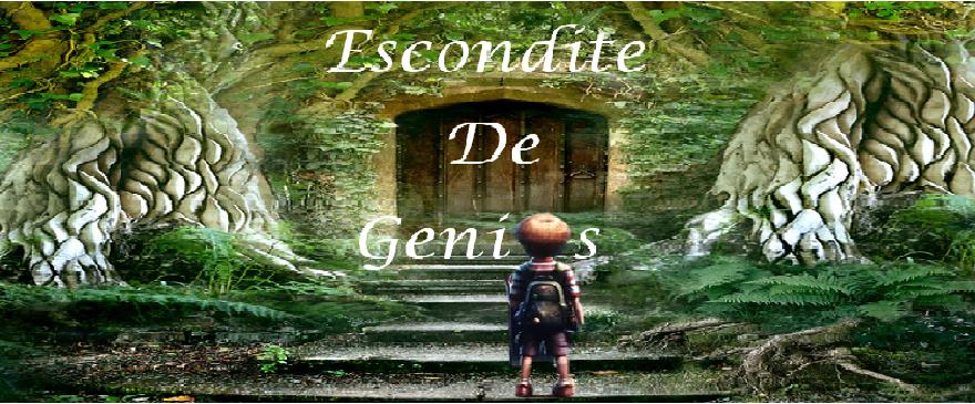 Escondite de genios (blog literario)