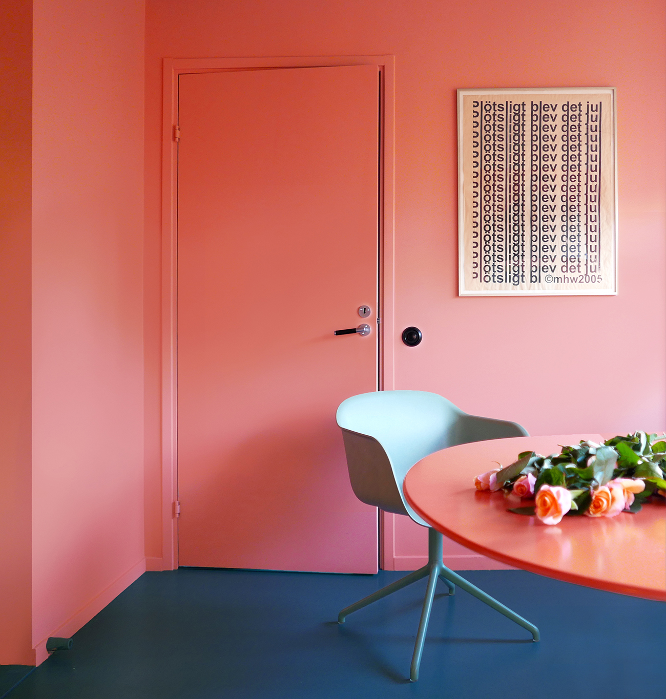 colorful Scandinavian design