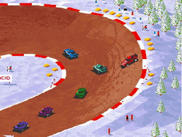 Super Skidmarks, Amiga