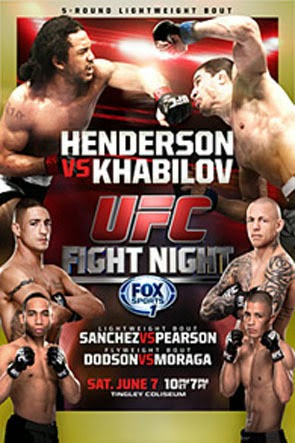 UFC Fight Night 42 Henderson vs. Khabilov Poster Download – UFC Fight Night: Henderson vs. Khabilov – HDTV (2014)