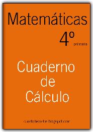 CUADERNO DE CÁLCULO PARA 4º