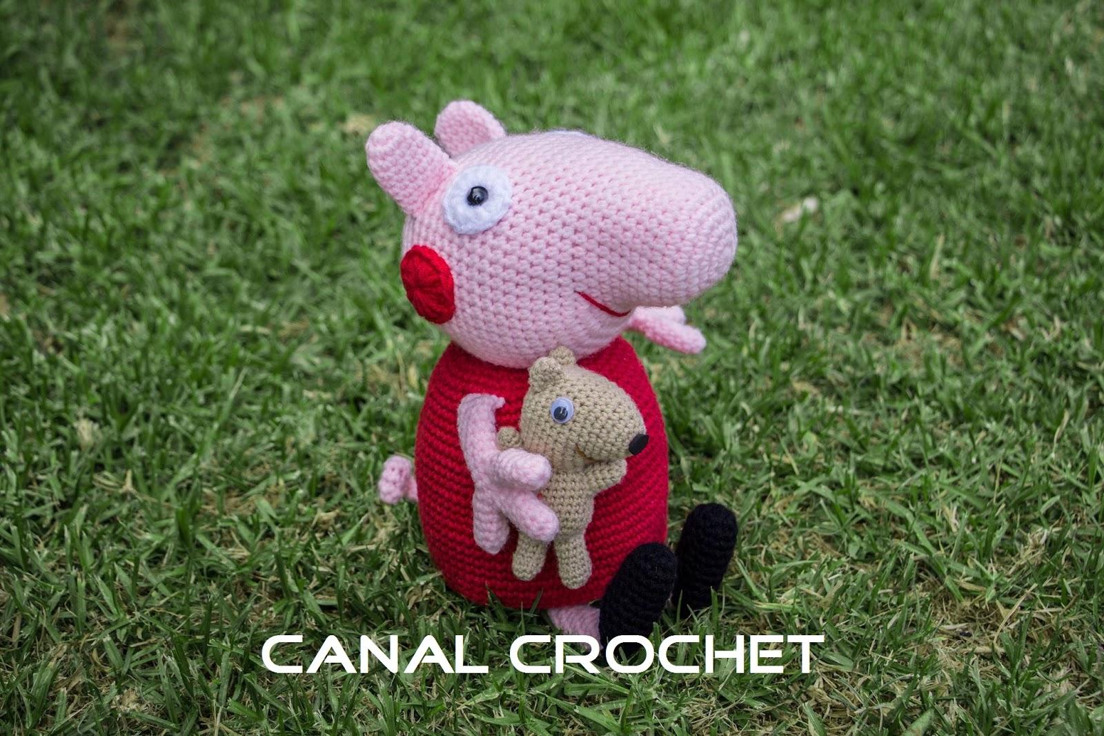 Atractivo Patrón De Crochet Carenado Oso Molde - Manta de Tejer ...