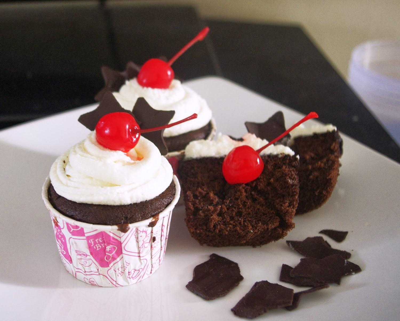 black forest cup cake black forest cup cake