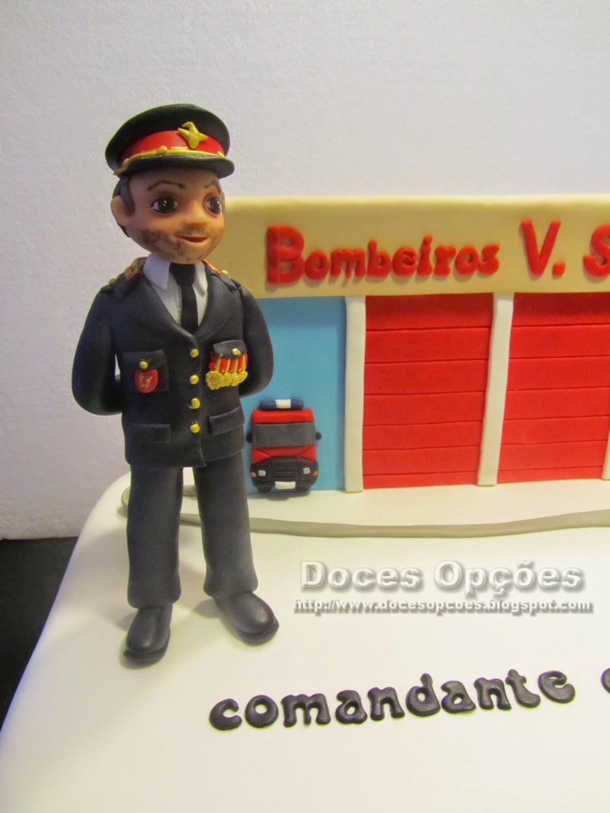 bolo comandante bombeiros